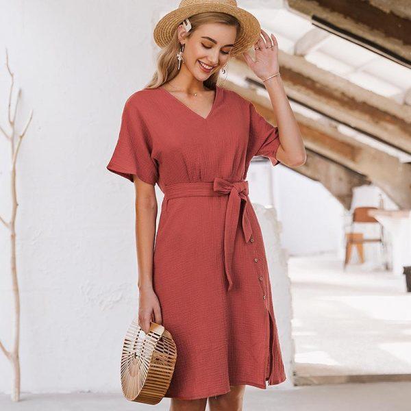 Simple Hippie Summer Dress