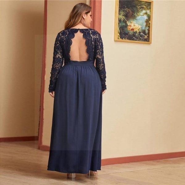 Dress hippie style big size