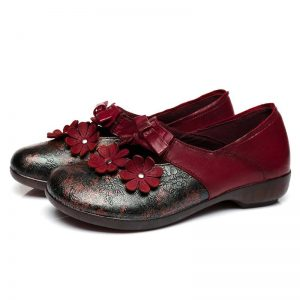 Bohemian Leather Shoes