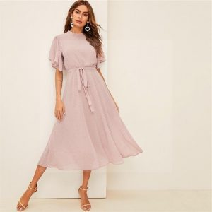 Bohemian long dress high end
