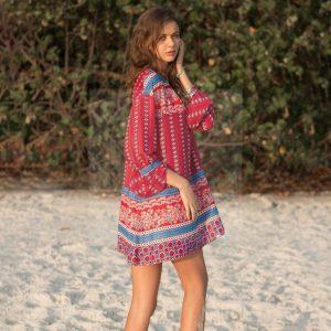 Hippie style dress